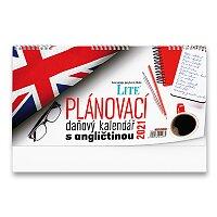 Stolní kalendář Plánovací daňový s angličtinou 2021