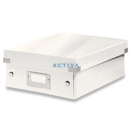 Obrázek produktu Leitz Click & Store - organizační krabice - 220 × 100 × 285 mm, bílá