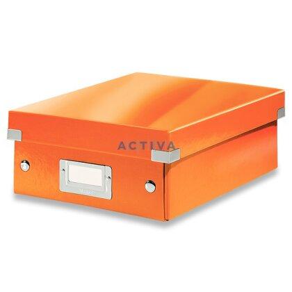 Obrázek produktu Leitz Click & Store - organizační krabice - 220 × 100 × 285 mm, oranžová
