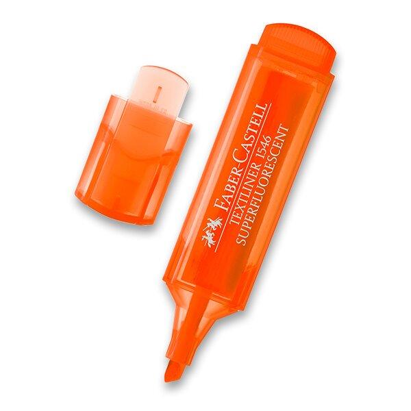 Zvýrazňovač Faber-Castell Textliner 1546 oranžový