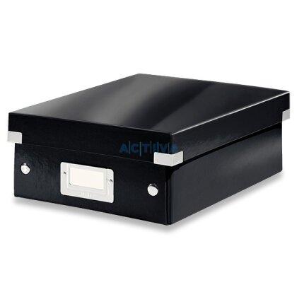 Obrázek produktu Leitz Click & Store - organizační krabice - 220 × 100 × 285 mm, černá