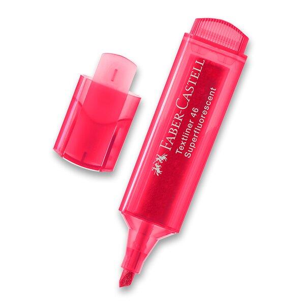 Zvýrazňovač Faber-Castell Textliner 1546 červený
