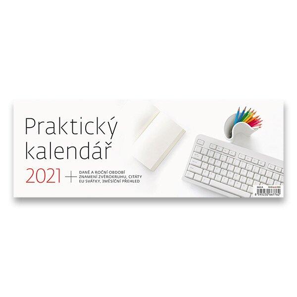 Stolní kalendář Praktický kalendář 2021 pracovní