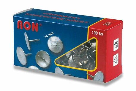 Obrázek produktu Kobercové napínáčky RON č. 201 - průměr hlavy 14 mm, 100 ks