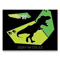 Desky na číslice T-Rex