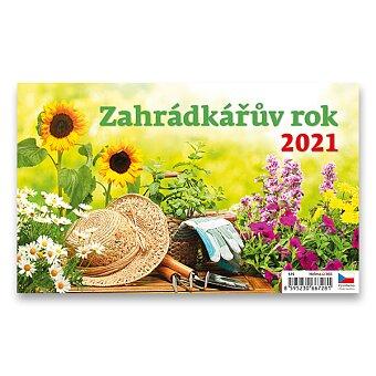 Obrázek produktu Stolní kalendář Zahrádkářův rok 2021 - obrázkový