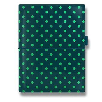 Obrázek produktu Diář A5 Filofax Domino Patent - tmavě zelený