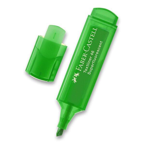 Zvýrazňovač Faber-Castell Textliner 1546 zelený