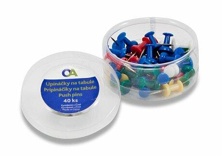 Obrázek produktu Upínáčky Staples - mix barev, 40 ks