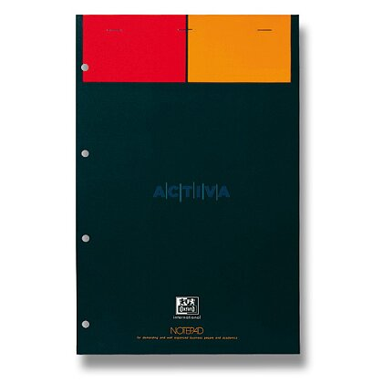 Obrázek produktu Oxford Notepad - šitý blok - A4, 80 l., čtverečkovaný, bílý papír