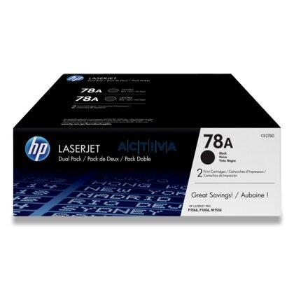 Obrázek produktu HP - toner CE278AD, dual pack pro laserové tiskárny