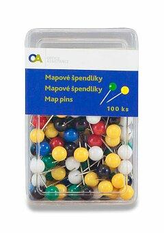 Obrázek produktu Špendlíky Staples - mix barev, 100 ks