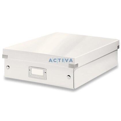 Obrázek produktu Leitz Click & Store - organizační krabice - 280 × 100 × 370 mm, bílá
