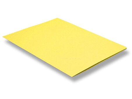 Obrázek produktu Desky bez chlopní HIT Office - A4, žluté