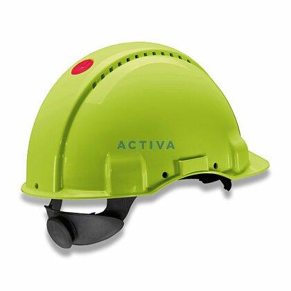 Obrázok produktu 3M Peltor G3000 - ochranná prilba - fluorescenčná zelená