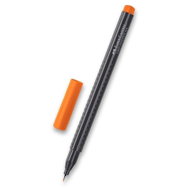 Fineliner Faber-Castell Grip 1516 - barevné oranžová