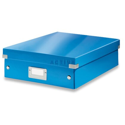 Obrázek produktu Leitz Click & Store - organizační krabice - 280 × 100 × 370 mm, modrá