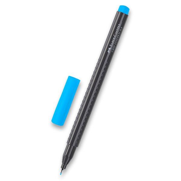 Fineliner Faber-Castell Grip 1516 - barevné sv. modrá