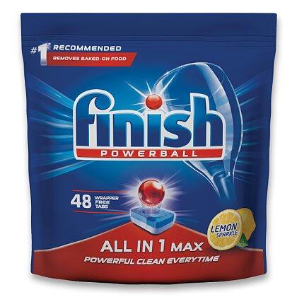 Obrázek produktu Finish All In 1 Max Lemon - tablety do myčky - 48 tablet