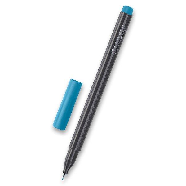 Fineliner Faber-Castell Grip 1516 - barevné kobaltová tyrkys