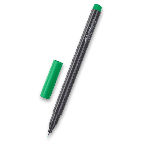 Fineliner Faber-Castell Grip 1516 - barevné smaragdově zelená