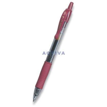 Obrázek produktu Pilot G-2 - gelový roller  - tmavě červený
