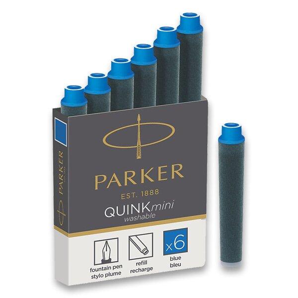 Inkoustové mini bombičky Parker modré