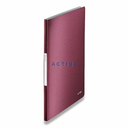 Obrázek produktu Leitz Style - katalogová kniha - 20 kapes, granátově červená