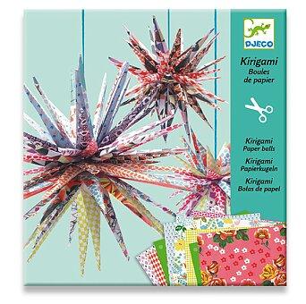 Obrázek produktu Kirigami Djeco - Papírové hvězdy