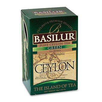 Obrázek produktu Zelený čaj Basilur Ceylon - 20 x 1,5 g