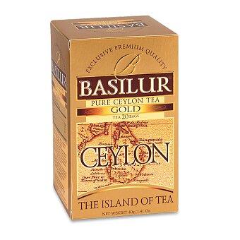 Obrázek produktu Černý čaj Basilur Gold Ceylon - 20 x 2 g
