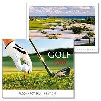 Nástěnný obrázkový kalendář Golf