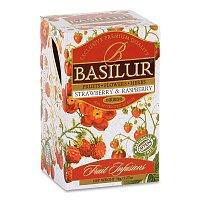 Ovocný čaj Basilur malina, jahoda