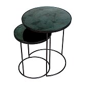 Stolky Ethnicraft Nesting Side Table set 2 ks