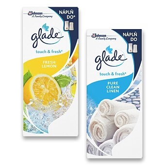 Obrázek produktu Náhradní náplň do osvěžovače Glade Touch & Fresh - 10 ml, výběr vůní