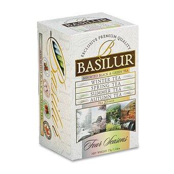 Obrázek produktu Variace černých a zelených čajů Basilur Four Seansons - 20 x 2 g