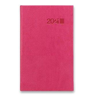 Obrázek produktu Týdenní kapesní diář Viva - růžový