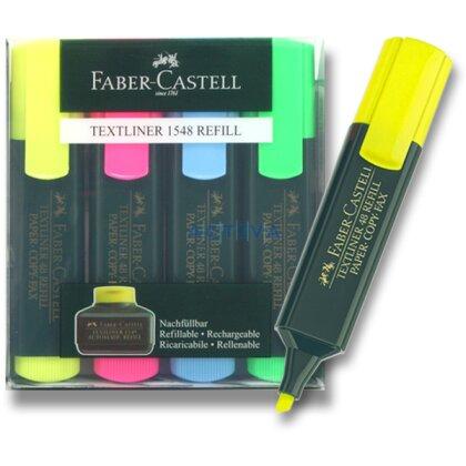 Obrázek produktu Faber-Castell Textliner 48 - zvýrazňovač -4 barvy