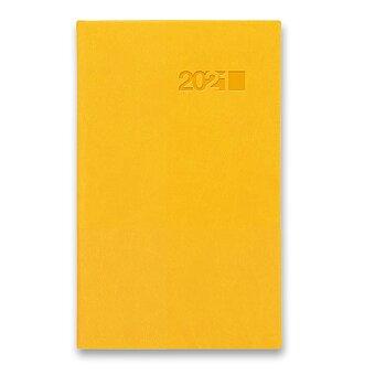 Obrázek produktu Týdenní kapesní diář Viva - žlutý