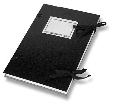 Obrázek produktu Desky s tkanicí  HIT Office - A4, černé