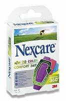Náplasti Nexcare Comfort 360° Color