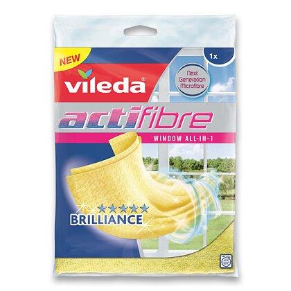 Obrázek produktu Vileda Actifibre - hadr na okna - 320 × 360 mm
