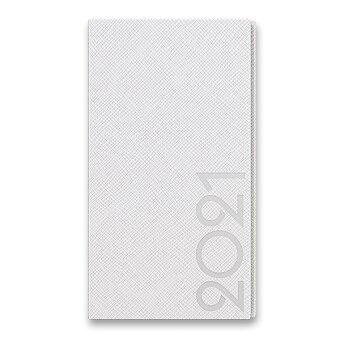 Obrázek produktu Týdenní kapesní diář Tora - bílý