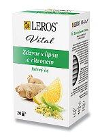 Bylinný čaj Leros Vital Zázvor s lípou a citronem