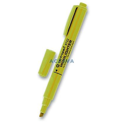 Obrázek produktu Centropen Highlighter 8722 - zvýrazňovač - žlutý