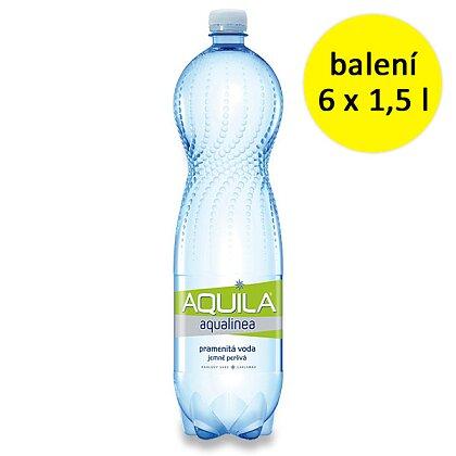 Obrázek produktu Aquila - jemně perlivá voda - 6 × 1,5 l
