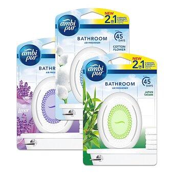 Obrázek produktu Koupelnový osvěžovač vzduchu Ambi Pur Merlion - 7,5 ml, výběr vůní