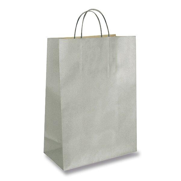 Dárková taška Ambar Kraft velikost M, mix barev