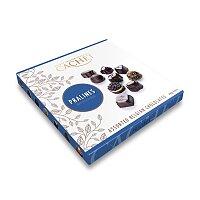 Belgické pralinky z hořké čokolády s náplní Cachet