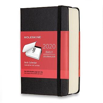 Obrázek produktu Diář Moleskine 2020 - stolní - S, denní